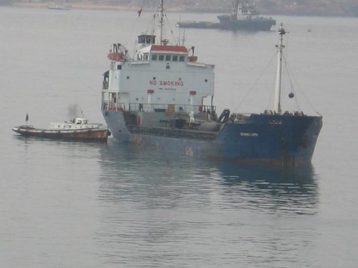 ruimen schip panamax
